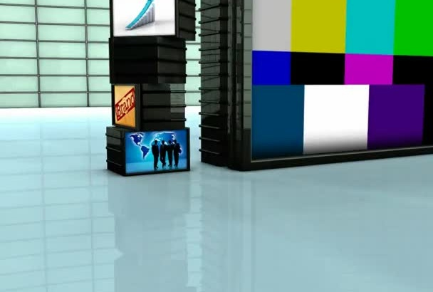 make you this Amazing 3D Cubical Business video intro