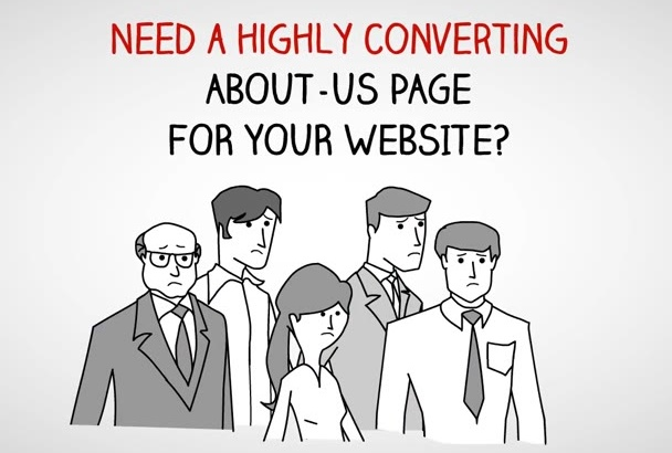 write An ATTRACTIVE About Us Page That Bring Insane Sales To Your Site
