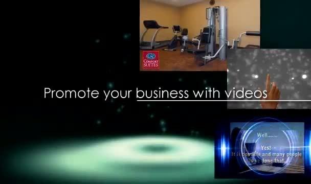 make 2 killer 30sec videos with your website url as watermark
