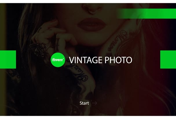 add vintage effects to your photo