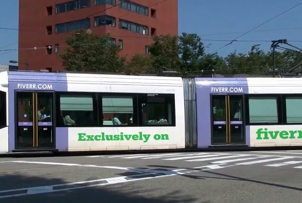 promote your Logo and Website on a Tram