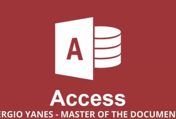 do any job in Microsoft Access