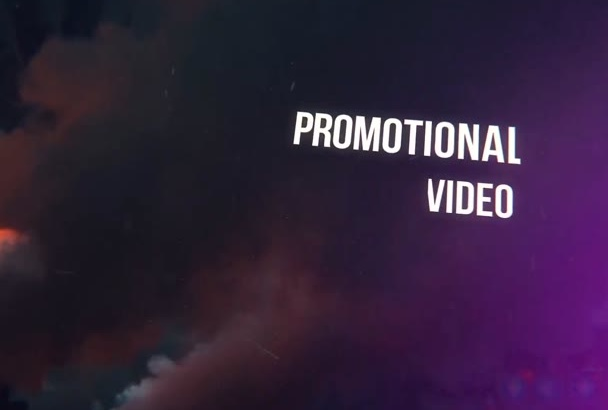 make epic promo video for your events and parties