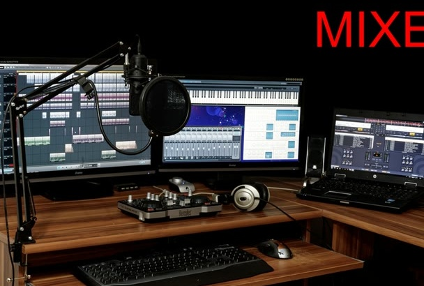 master your song in 1 day, Clean and Edit your audio