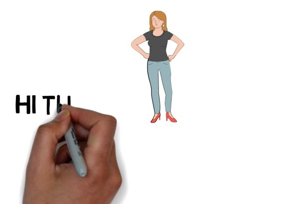 do whiteboard animation for any of your product or website