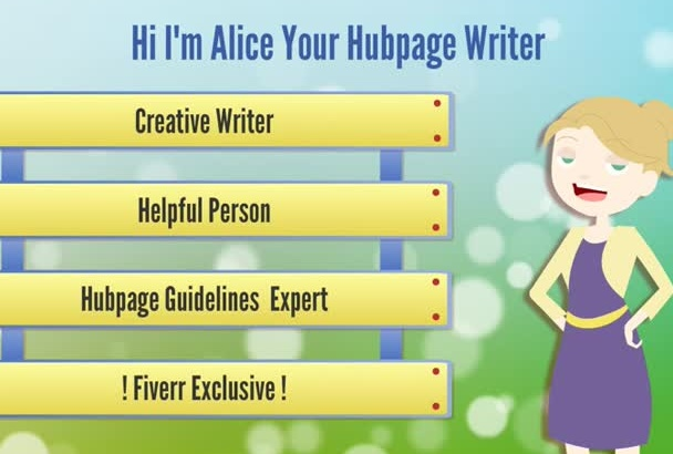 be your CREATIVE Writer