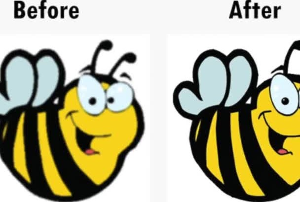 high Quality VECTOR your Logo or Image in 1 Day
