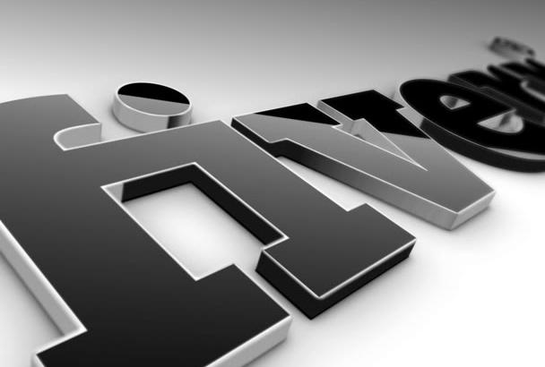 create a CLASSY 3D logo animation intro
