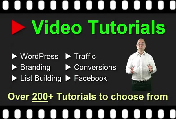 give you Video TUTORIALS