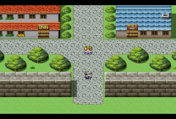 turn your story into a short RPG videogame