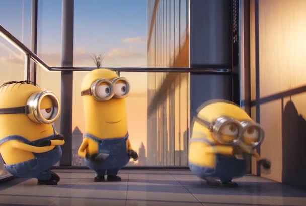 minions dance in a funny video for you within 6 hour