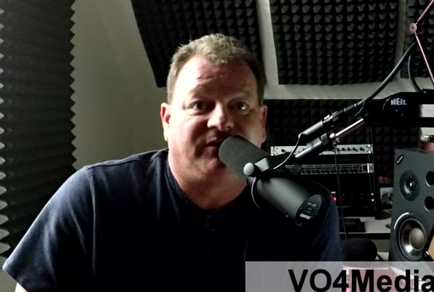 do a Professional American Male Voice Over for YOU