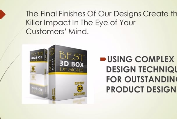 create STUNNING 3D eBook 3D report covers cd boxes for your digital products