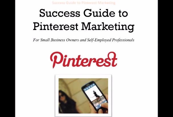 deliver a Pinterest Marketing Guide