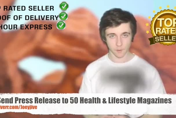 send Press Article to 50 Health Lifestyle Magazines