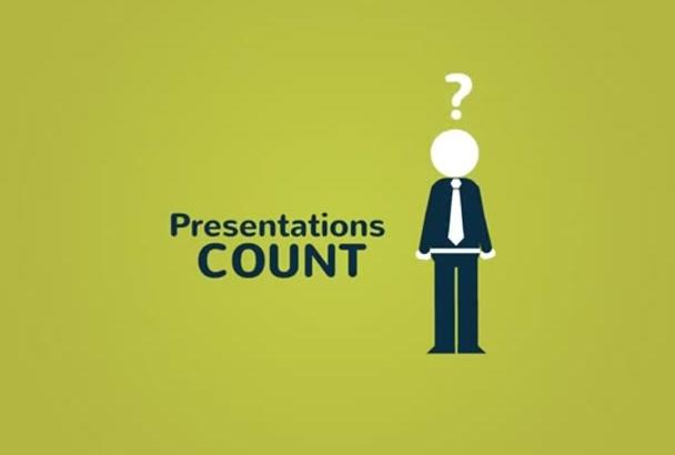 make presentations on powerpoint