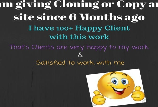 clone or Copy any WordPress site like your demo
