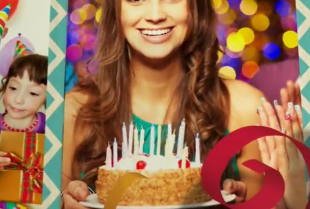 do Awesome BIRTHDAY 3D video for you