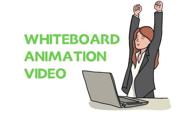 create Professional Whiteboard Animated Videos
