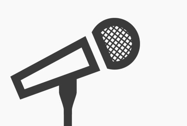 grabar una locución en Español de España o Inglés