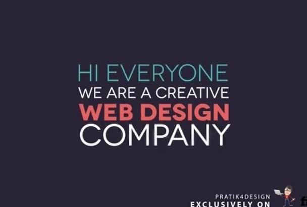 do complete html css responsive website design