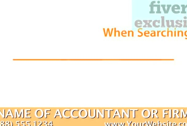 personalize a video for a Certified Public Accountant
