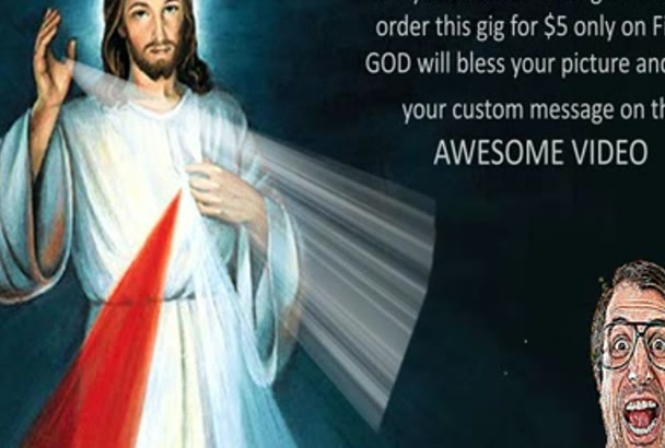 do JESUS Christ Blessing you Video