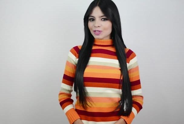 grabar un vídeo testimonial o promocional en español latino
