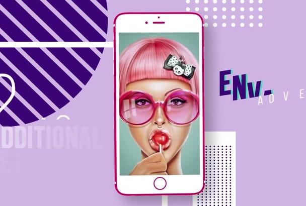 mobile app Ui PROMO