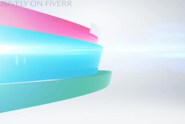 make Elegant Clean LOGO Intro Video Animation
