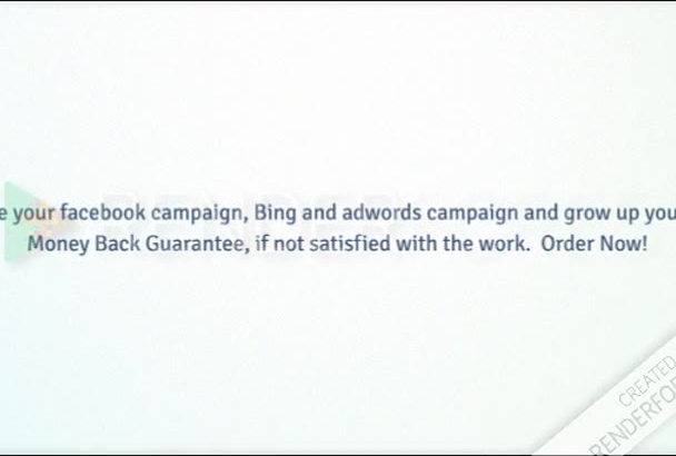 build your FB, AdWords or Bing campaign in just 17 Hours