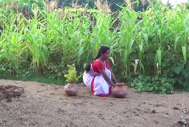 create Amazing Traditional Dance video with pots
