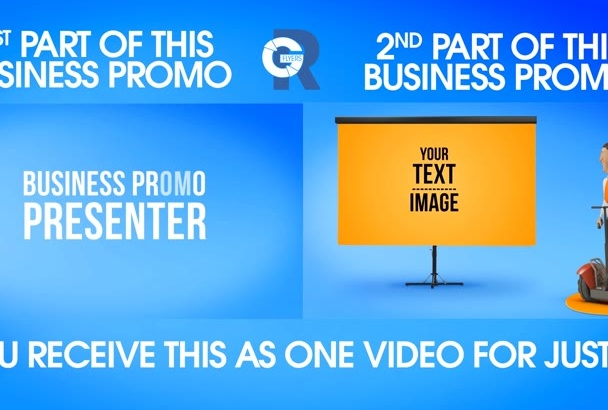 design this business presentation video