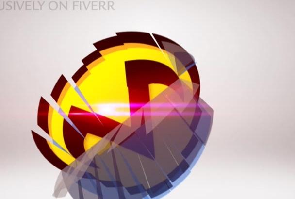 create NEW Transformer Logo Intro Video Animation