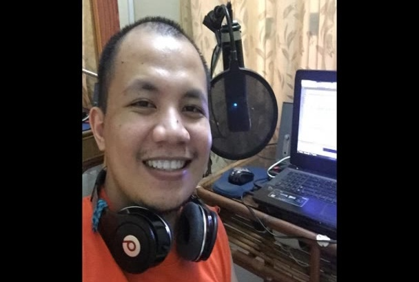 record a professional voice over for you