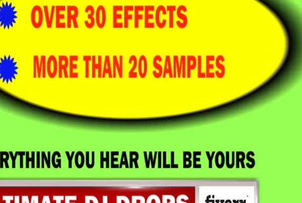 supply You with over 30  Production EFFECTS