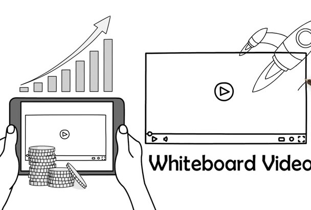 design an OUTSTANDING whiteboard video