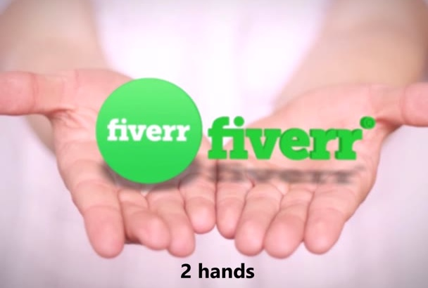do 3D HANDS Intro Animation to your Logo