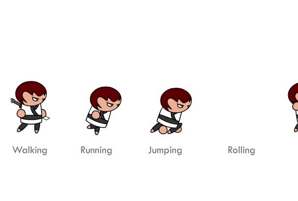 make your game character animations in my style