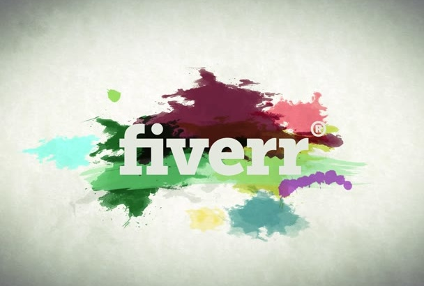 do water colour Paint effect intro for your logo