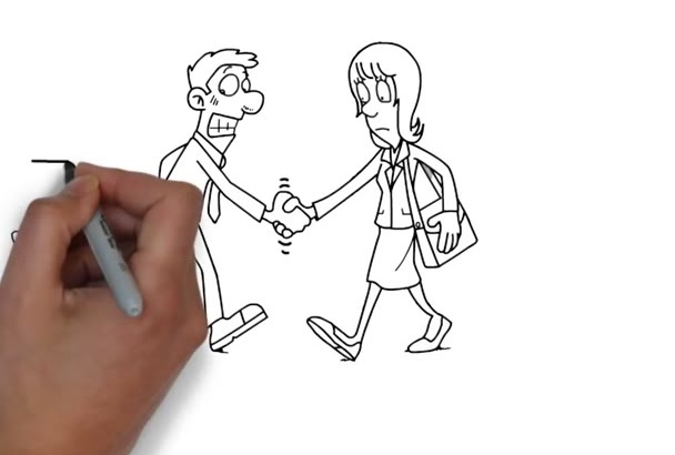 design a professional WHITEBOARD animation