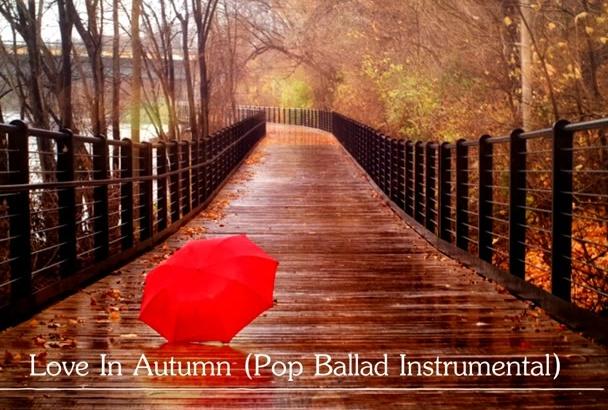 make a beautiful pop ballad for you