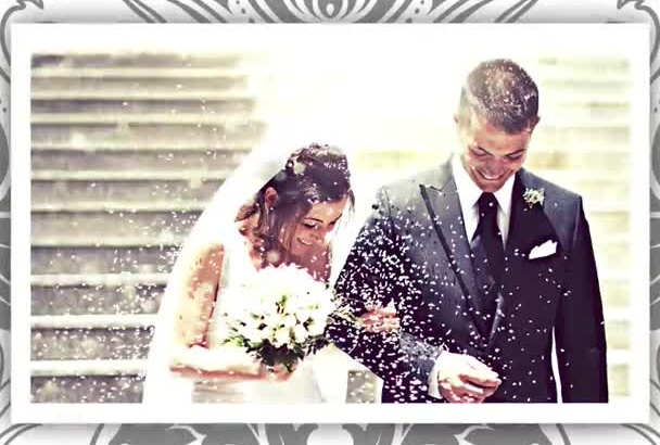 make a video SLIDESHOW for wedding, birthday or any event