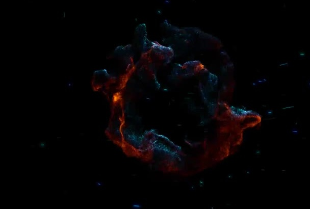 design this Fantastic Fire and Vortex Video Intro Full HD