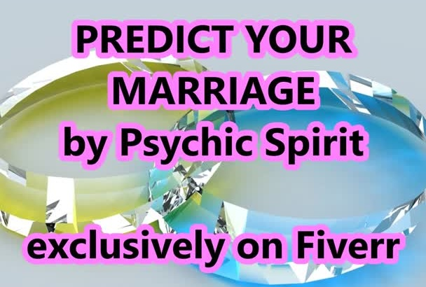 a PSYCHIC MARRiAGE PREDiCTION READiNG LiVE NoW OPTiON Top Seller