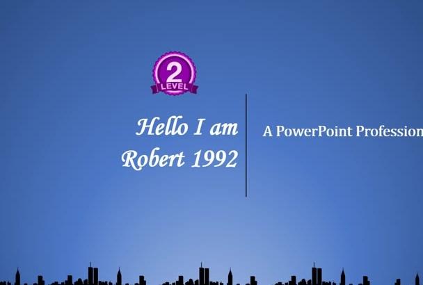 create Stunning Power Point Presentation