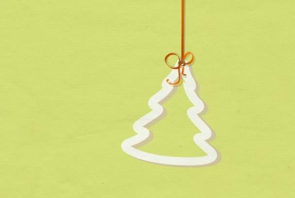 create an ornament Christmas Animation