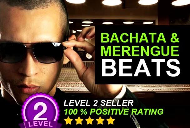 create Bachata or Merengue Beat