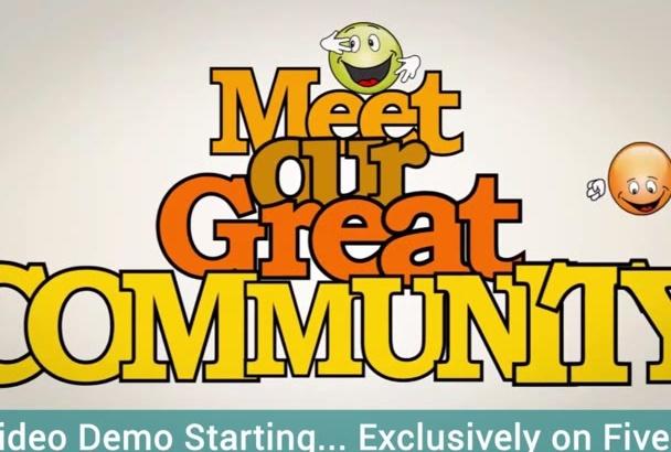 design A Friendly Business Promo Video in 1080P