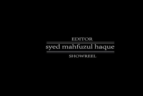 make your Showreel FAST
